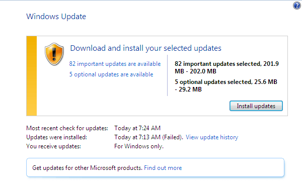 Windows Update - Επιβραδύνει τα Windows, ή όχι 07