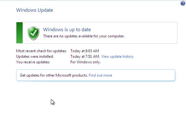 Windows Update - Επιβραδύνει τα Windows, ή όχι 09