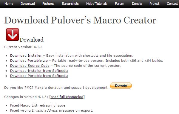 Αυτοματισμός στα Windows Μακροεντολές με το Pulover's Macro Creator 01