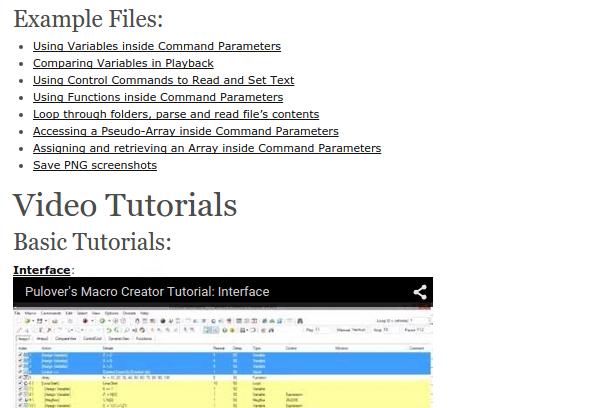 Αυτοματισμός στα Windows Μακροεντολές με το Pulover's Macro Creator 46a