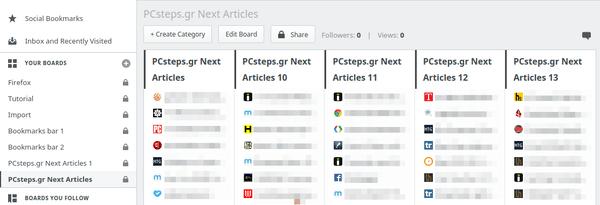 Οργάνωση Σελιδοδεικτών - Bookmarks σε Chrome και Firefox 26