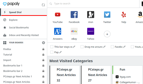 Οργάνωση Σελιδοδεικτών - Bookmarks σε Chrome και Firefox 27