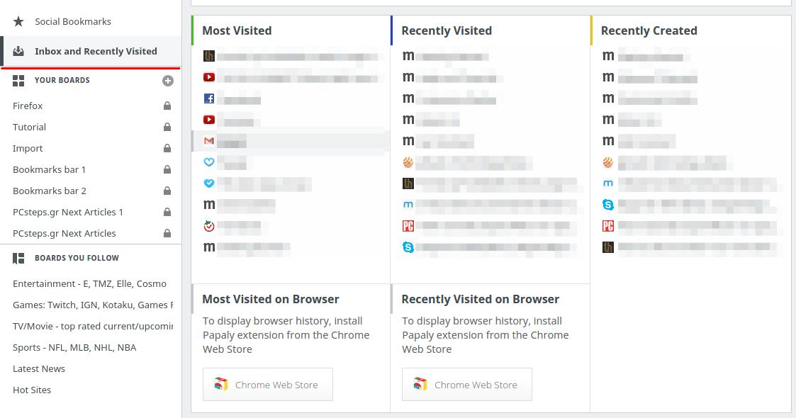 Οργάνωση Σελιδοδεικτών - Bookmarks σε Chrome και Firefox 30