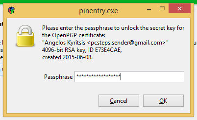 Ασφαλές Email με Κρυπτογράφηση OpenPGP 19