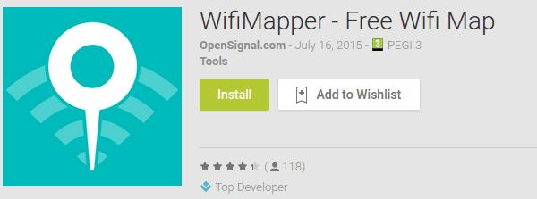 Δωρεάν WiFi - Βρείτε το Κοντινότερο με το WiFiMapper-01