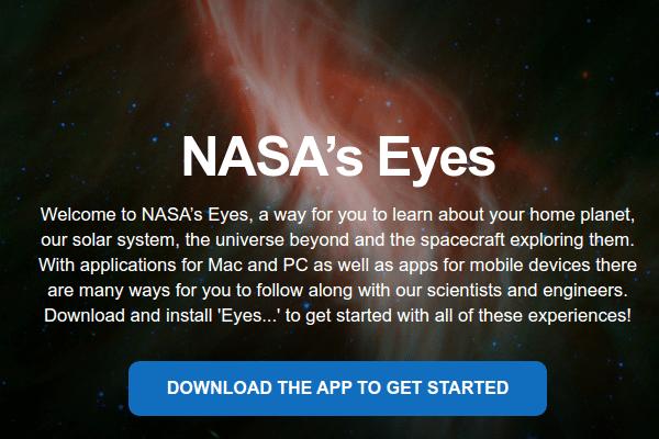 Εξερεύνηση του Διαστήματος με το NASA's Eyes 01