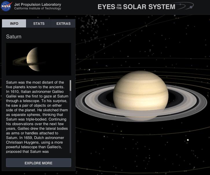 Εξερεύνηση του Διαστήματος με το NASA's Eyes 10