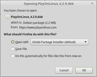 Εγκατάσταση League of Legends στο Linux Mint - Ubuntu 07