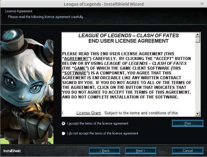 Εγκατάσταση League of Legends στο Linux Mint - Ubuntu 23
