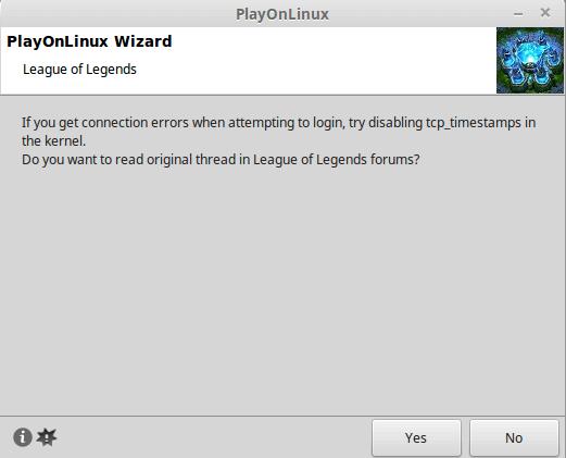 Εγκατάσταση League of Legends στο Linux Mint - Ubuntu 25