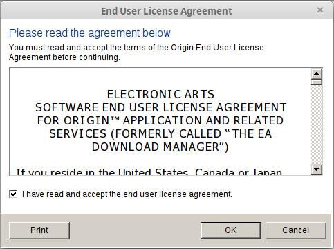 Εγκατάσταση Origin στο Linux Mint - Ubuntu με το Wine 08