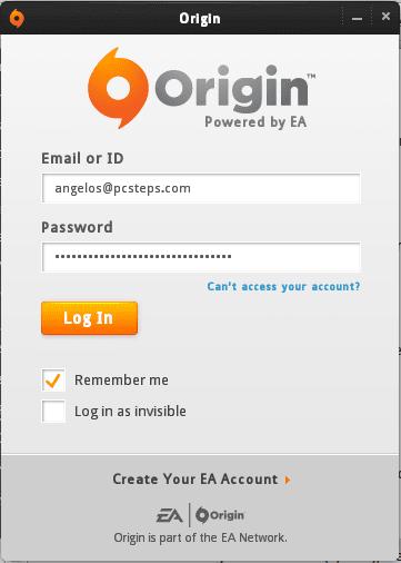 Εγκατάσταση Origin στο Linux Mint - Ubuntu με το Wine 20