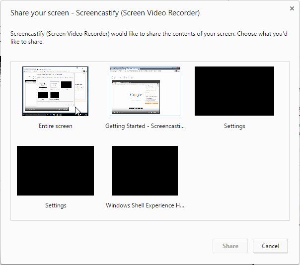 Καταγραφή Desktop σε Windows - Linux - Mac μέσω Chrome 06