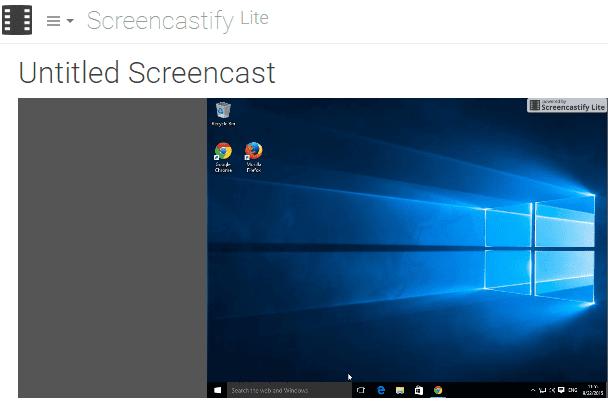Καταγραφή Desktop σε Windows - Linux - Mac μέσω Chrome 08