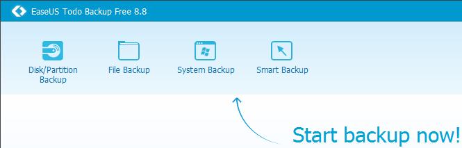 Αντίγραφο Ασφαλείας Windows με το EaseUS Todo Backup 00