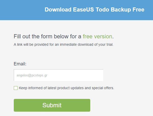Αντίγραφο Ασφαλείας Windows με το EaseUS Todo Backup 02