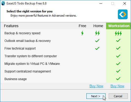 Αντίγραφο Ασφαλείας Windows με το EaseUS Todo Backup 04