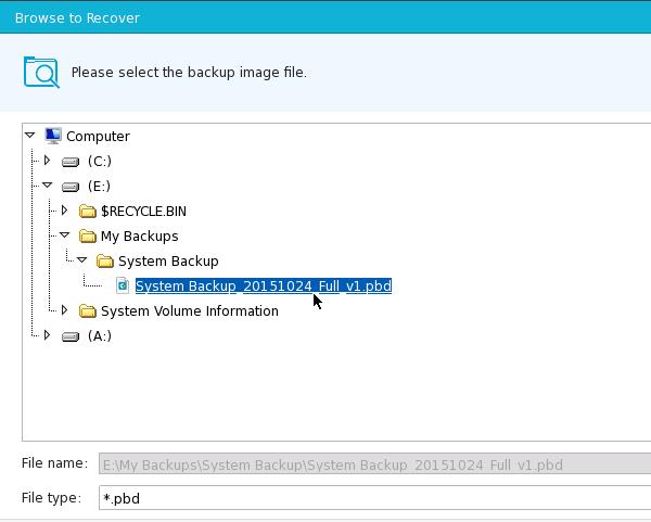 Αντίγραφο Ασφαλείας Windows με το EaseUS Todo Backup 39
