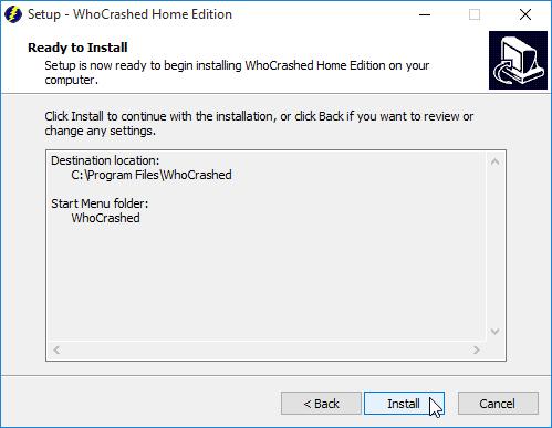 Ανάλυση Μπλε Οθόνης στα Windows με το WhoCrashed 02
