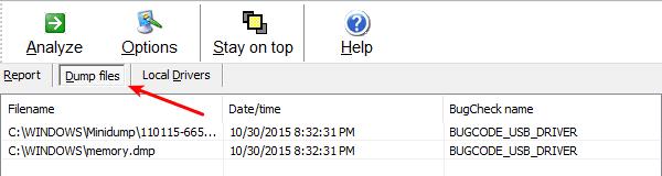 Ανάλυση Μπλε Οθόνης στα Windows με το WhoCrashed 07