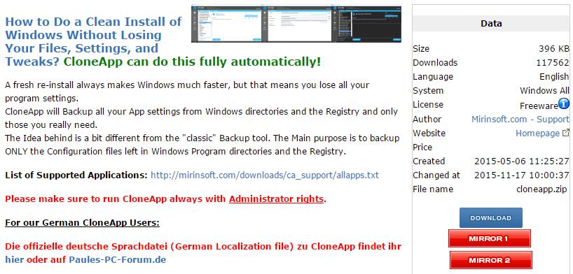 Backup Ρυθμίσεων Προγραμμάτων στα Windows για Format ή Μεταφορά 01