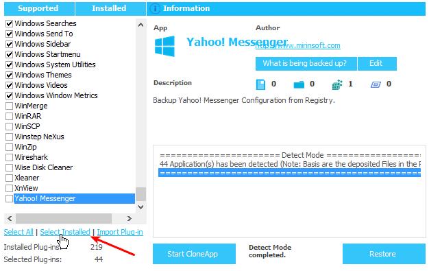 Backup Ρυθμίσεων Προγραμμάτων στα Windows για Format ή Μεταφορά 05