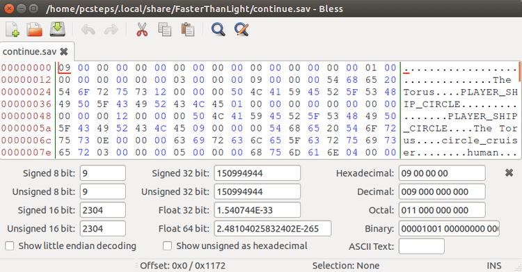 Bless - Ένας έξοχος GUI Hex Editor στο Linux Mint - Ubuntu 08