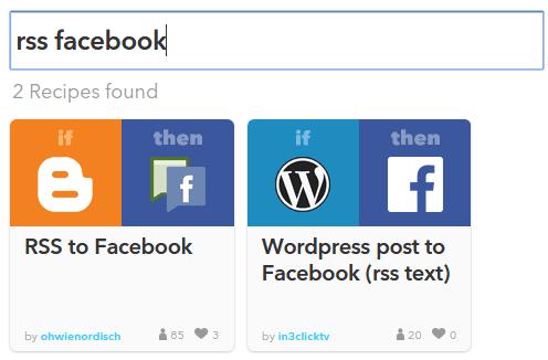 Αυτόματες Δημοσιεύσεις Facebook Twitter Social Media με το IFTTT 07