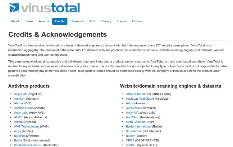 Έλεγχος Αρχείων για Ιούς και Malware με το VirusTotal 01