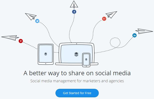 Διαχείριση λογαριασμών Social Media Αυτόματα και Δωρεάν Buffer 01
