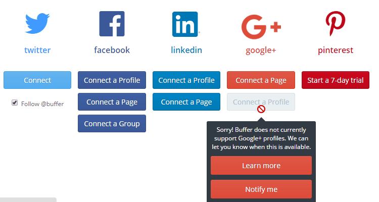Διαχείριση λογαριασμών Social Media Αυτόματα και Δωρεάν Buffer 18