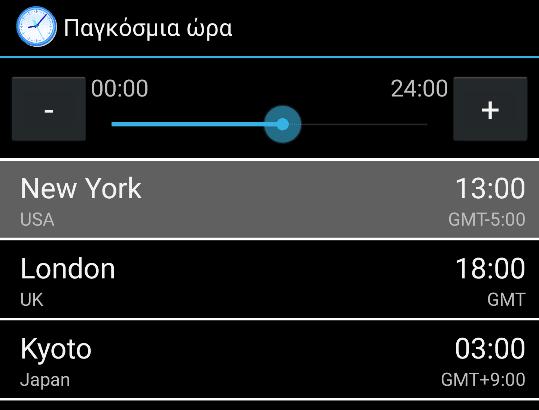 Διαχειριστείτε Πολλαπλές Χρονικές Ζώνες στο Android 16