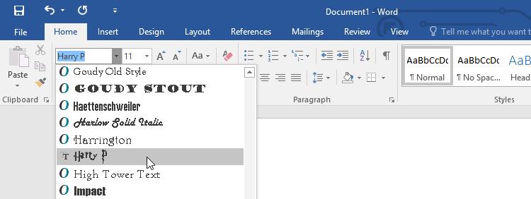 Κατέβασμα Γραμματοσειρών Εγκατάσταση Γραμματοσειρών στα Windows Vista 7 8.1 10 Εγκαθιστώ Γραμματοσειρές Ταινιών 07
