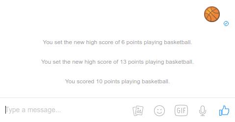 Παιχνίδι Basket στο Facebook Messenger για Android και iOS 08