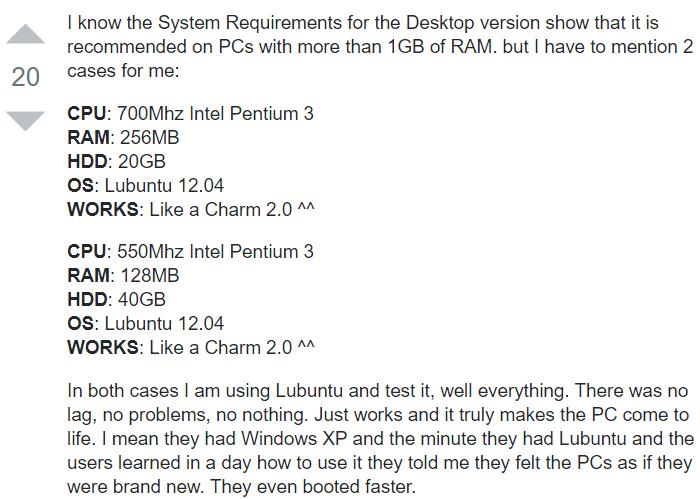 Windows με Linux απαιτήσεις συστήματος