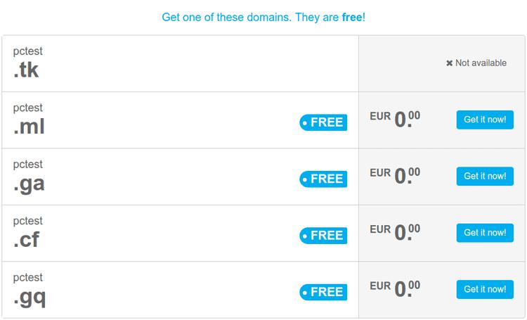Πώς γίνεται η Κατοχύρωση Δωρεάν Domain Για Δοκιμαστική Σελίδα 03