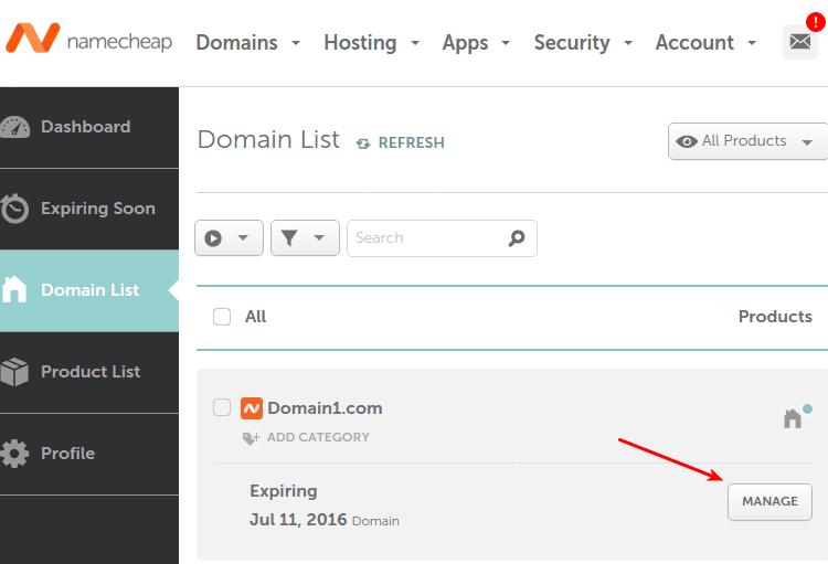 Σύνδεση Domain με το Server Φιλοξενίας Nameservers 06