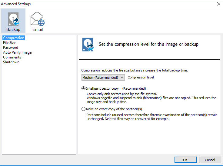 Αντίγραφα Ασφαλείας Windows με το Macrium Reflect free 10