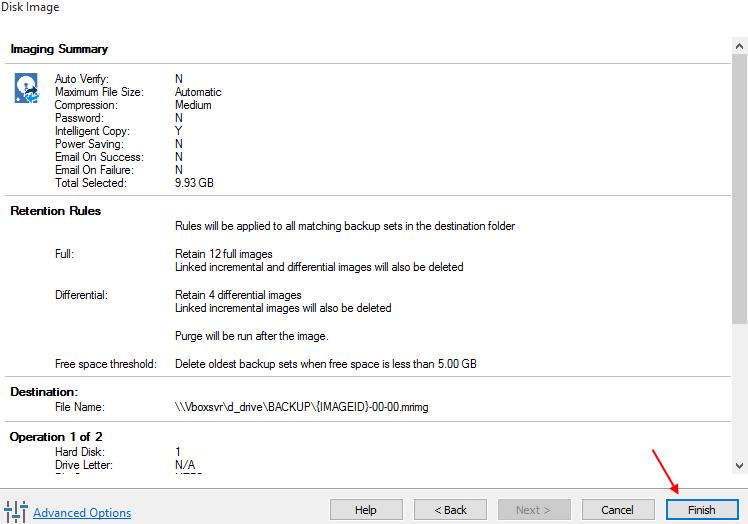 Αντίγραφα Ασφαλείας Windows με το Macrium Reflect free 13