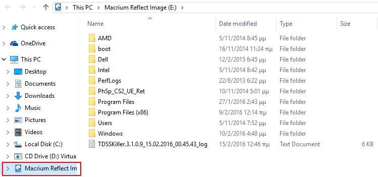 Αντίγραφα Ασφαλείας Windows με το Macrium Reflect free 21