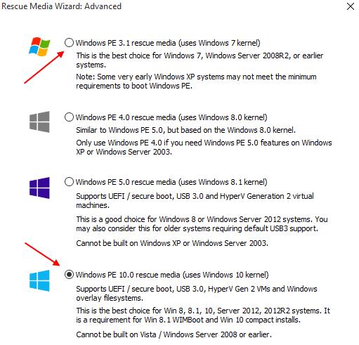 Αντίγραφα Ασφαλείας Windows με το Macrium Reflect free 24