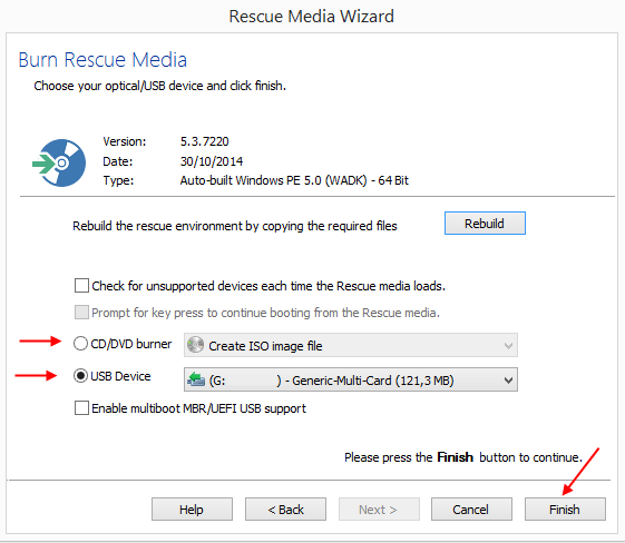 Αντίγραφα Ασφαλείας Windows με το Macrium Reflect free 27