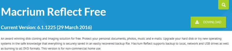 Αντίγραφα Ασφαλείας Windows με το Macrium Reflect free 3