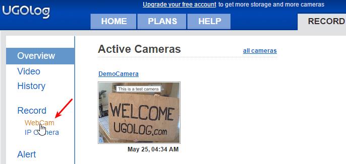Δωρεάν Κάμερα Παρακολούθησης μέσω Internet με Webcam 03