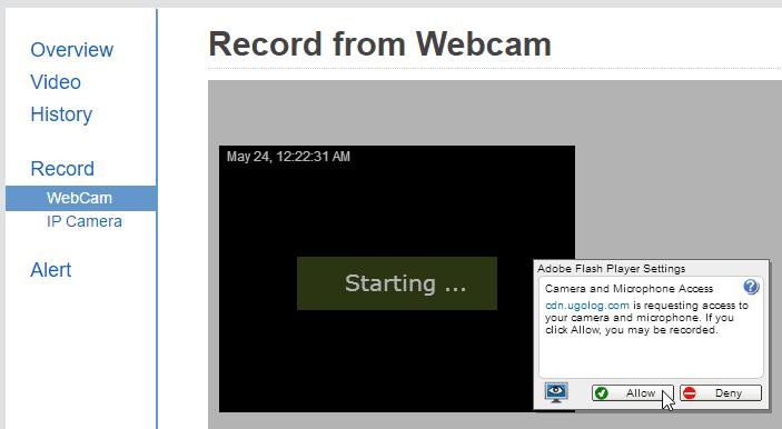 Δωρεάν Κάμερα Παρακολούθησης μέσω Internet με Webcam 04