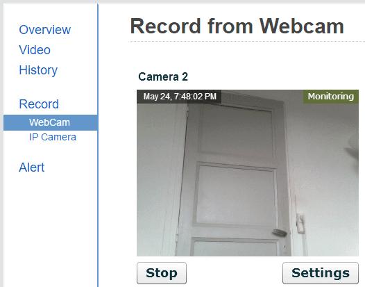 Δωρεάν Κάμερα Παρακολούθησης μέσω Internet με Webcam 06