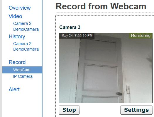 Δωρεάν Κάμερα Παρακολούθησης μέσω Internet με Webcam 09