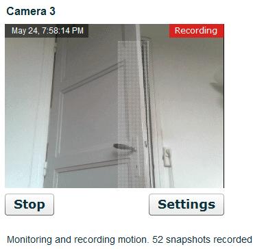 Δωρεάν Κάμερα Παρακολούθησης μέσω Internet με Webcam 11