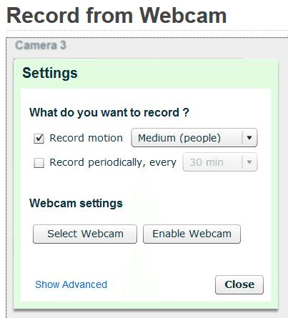 Δωρεάν Κάμερα Παρακολούθησης μέσω Internet με Webcam 12