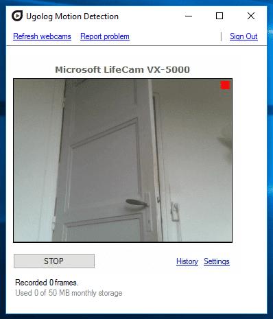 Δωρεάν Κάμερα Παρακολούθησης μέσω Internet με Webcam 15